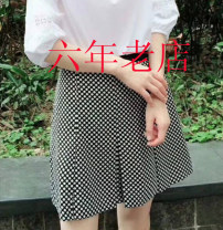 Casual pants As shown in the figure 2 / s, 3 / m, 4 / L, 5 / XL Summer of 2018 shorts Wide leg pants High waist commute routine 30-34 years old 96% and above Novel goldette other