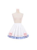 skirt Summer 2020 0, 1 White + light blue skirt Other / other