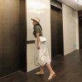 Women's large Summer of 2019 Large XL, 2XL, 3XL, 4XL skirt singleton  commute moderate Simplicity Qbxx studio / pencil Xiaoxin Medium length
