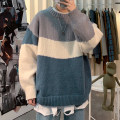 T-shirt / sweater Zijun Youth fashion M,L,XL,2XL routine Socket Crew neck Long sleeves winter easy 2020 leisure time like a breath of fresh air teenagers routine other Regular wool (10 stitches, 12 stitches) Color contrast