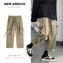 Casual pants Zijun Youth fashion S,M,L,XL,2XL,3XL,4XL,5XL routine trousers Other leisure easy Micro bomb autumn teenagers tide 2020 Medium low back Straight cylinder other other Domestic non famous brands