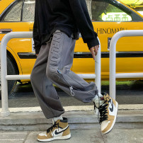 Casual pants Zijun Youth fashion S,M,L,XL routine trousers Other leisure easy spring teenagers like a breath of fresh air 2021 Sports pants