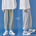 Casual pants Zijun Youth fashion Black, green, gray, black plush, green plush, gray plush, > Click to view the size < (select the color above) M,L,XL,2XL routine trousers Other leisure easy Micro bomb autumn teenagers tide 2020 Medium low back Straight cylinder Sports pants No iron treatment other
