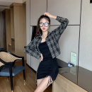 T-shirt Black suspender skirt, picture color coat Average size Autumn of 2019 other 86% (inclusive) -95% (inclusive) Other / other