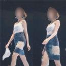 Fashion suit Summer 2020 S,M,L,XL Suspender for bra, denim skirt