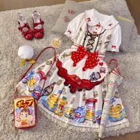 Lolita / soft girl / dress Sand of time Lolita One piece, split piece, one piece (no deposit), split piece (no deposit) M Customized