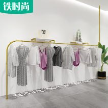 Clothing display rack clothing stainless steel Special shaped tube gold 1 Iron fashion