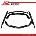 Surrounded by cars JSKRACING Carbon fiber front lip carbon fiber side skirt carbon fiber rear lip carbon fiber tail Mercedes Benz AMG GT Automobile modified parts carbon fibre wide enlargement Side skirt tail other Support installation Front bar + rear bar