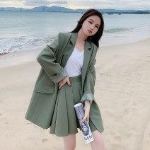 Fashion suit Autumn 2020 S,M,L,XL Black, green 18-25 years old 51% (inclusive) - 70% (inclusive)