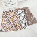 skirt Spring 2021 S,M,L,XL Black, white, yellow, coffee Short skirt Versatile High waist A-line skirt Decor Type A 18-24 years old 30% and below other