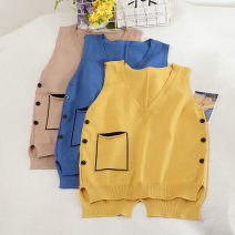 Vest sling Autumn 2020 Khaki, blue, yellow Average size singleton  have cash less than that is registered in the accounts easy other other Solid color 18-24 years old 30% and below other