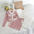 Fashion suit Autumn 2020 Average size Pink, black, white 18-25 years old 30% and below
