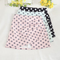 skirt Summer 2020 S,M,L,XL Black, pink, white, apricot, blueberry Short skirt Retro High waist A-line skirt Decor Type A 18-24 years old 30% and below