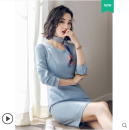 Professional dress suit S,M,L,XL,XXL Autumn of 2018 Long sleeves loose coat other AI Shangchen 91% (inclusive) - 95% (inclusive) polyester fiber