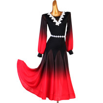 Modern dance suit (including performance clothes) The charm of glory Foxtrot , waltz , Trot , Tango female S,M,L,XL,XXL other