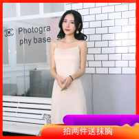 Dress Summer 2020 White, black, pink, apricot, take two for a bra 75cm average, 95cm average S010