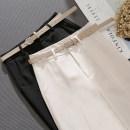 Casual pants S,M,L,XL,2XL,3XL Spring 2021 Ninth pants Pencil pants High waist commute Thin money 25-29 years old Chloroprene Korean version nylon
