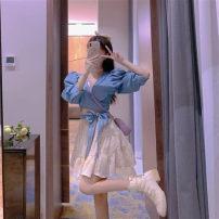 Fashion suit Autumn 2020 S,M,L,XL,XXL Top, skirt, suit 18-25 years old