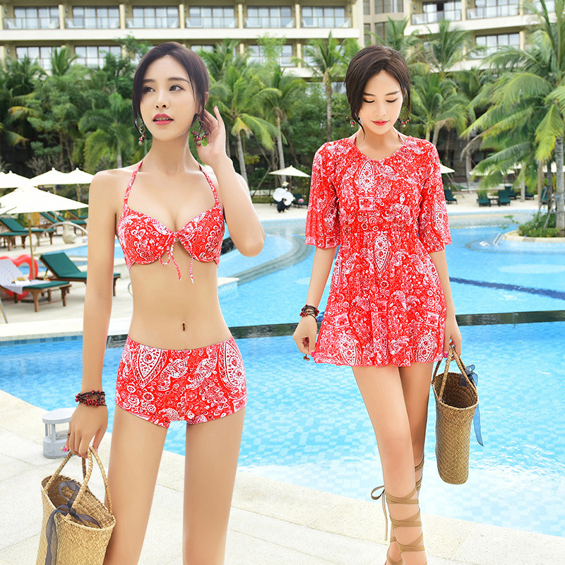 Bikini Independent brand Red blue M L XL XXL one thousand eight hundred and ten