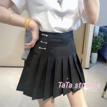 skirt Spring 2021 S,M,L,XL Black, grayish blue FTS - two thousand seven hundred and seventy