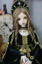 BJD doll zone suit 1/3 Over 14 years old Customized Picture retro dark green
