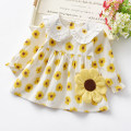 Dress Yellow, skin pink female Other / other 80 (m), 90 (L), 100 (XL), 110 (XXL) Cotton 80% other 20% spring and autumn leisure time cotton A-line skirt LJL054 12 months, 6 months, 18 months, 2 years, 3 years, 4 years Chinese Mainland Zhejiang Province Ningbo City