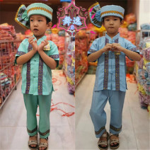 Children's performance clothes neutral Other / other Shop search (Wuyi) nation Cotton and hemp 12 months, 18 months, 2 years old, 3 years old, 4 years old, 5 years old, 6 years old, 7 years old, 8 years old, 9 years old, 10 years old, 11 years old, 12 years old, 13 years old, 14 years old