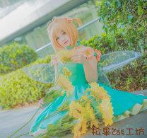 Cosplay women's wear skirt goods in stock Over 14 years old comic Japan Lovely wind Card Captor Sakura The tree of Sakura