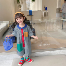 trousers Other / other female 80cm,90cm,100cm,110cm,120cm,130cm Graph color summer Pant Korean version There are models in the real shooting Jumpsuits Don't open the crotch Two, three, four, five, six, seven, eight, nine Chinese Mainland