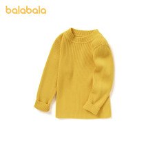 Sweater / sweater 90cm,100cm,110cm,120cm,130cm cotton female Bala leisure time No model Socket routine Crew neck nothing Ordinary wool Solid color other 3, 4, 5, 6, 7