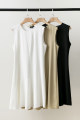 Dress Summer 2020 Black, white, light green 0,2,4,6 Middle-skirt singleton  Sleeveless commute Crew neck Solid color Socket A-line skirt Others Type A Simplicity 51% (inclusive) - 70% (inclusive) Cellulose acetate
