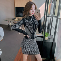 Fashion suit Spring 2021 M, L Top, skirt 18-25 years old Other / other A8022