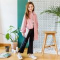 suit Other / other Sky blue, red, white, black 120cm,130cm,110cm,140cm,150cm,160cm,165cm female spring and autumn Korean version Long sleeve + pants 2 pieces routine No model Single breasted nothing Cartoon animation Pure cotton (100% cotton content) children Expression of love Class B Shenzhen City