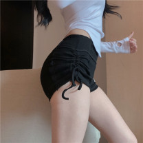 Casual pants Grey, black, pink Average size Summer 2021 shorts High waist commute Korean version