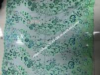 Fabric / fabric / handmade DIY fabric Netting Loose shear piece Plants and flowers jacquard weave clothing Europe and America