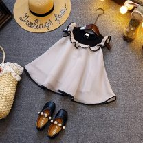 Dress White, grayish pink female Other / other 7 / 90cm, 9 / 100cm, 11 / 110cm, 13 / 120cm, 15 / 130cm Other 100% summer Korean version Skirt / vest Solid color other A-line skirt XT326 Class B 3, 4, 5, 6, 7 Chinese Mainland