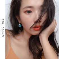 Ear Studs Alloy / silver / gold RMB 1.00-9.99 Mango tree A pair of ordinary earrings, a pair of ear clip, a pair of 925 silver needle brand new Japan and South Korea female goods in stock Fresh out of the oven Not inlaid other