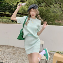 Fashion suit Summer 2021 Average size Light green, light yellow 18-25 years old 30% and below