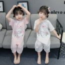 Home suit one piece Other / other Other 100% Size 80 (height 70-78cm, age 1), Size 90 (height 78-87cm, age 1-2), size 100 (height 88-97cm, age 2-3), Size 110 (height 98-107cm, age 3-4), Size 120 (height 108-117cm, age 4-5) White, pink female summer cotton Class B Home Simplicity Chinese Mainland