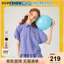 Polo shirt Summer 2020 Short sleeve Hopeshow  other puff sleeve routine easy S M L XL 96% and above Same model in shopping mall (sold online and offline)