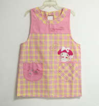 apron Blue soup pot, red soup pot, adult bandage, special yellow thin button, special pink thin button, small problem rabbit button 79 * 104, rabbit button 79 * 104, new pink side button 83 * 104cm, new red back button Sleeveless apron antifouling Japanese  other Household cleaning public yes Cartoon