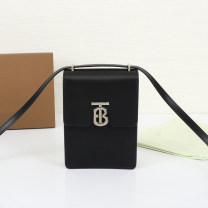 Mobile phone bag cowhide Other / other brand new Buckles Solid color Japan and South Korea Erect funds youth Buckle genuine leather Double skin of cattle