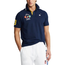 Polo shirt Other / other Youth fashion routine Blue black ( Payment 4442 ), green ( Fund 4520 ), Blue black ( Model 4405 ), Rice white ( Payment 4430 ), grey ( Fund 4573 ) standard Other leisure summer Short sleeve American leisure routine Solid color cotton Embroidery More than 95%