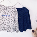 T-shirt Other / other 90cm,100cm,110cm,120cm,130cm,140cm,150cm neutral Long sleeves Crew neck commute No model nothing cotton Leopard Print 18 months, 2 years old, 3 years old, 4 years old, 5 years old, 6 years old, 7 years old, 8 years old
