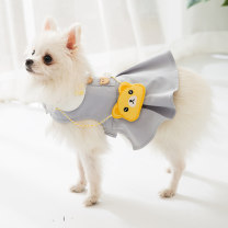 Pet clothing / raincoat currency Dress XS,S,M,L,XL,XXL Other / other princess cotton