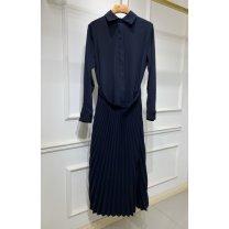 Dress Spring 2020 Picture color S,M,L Splicing 81% (inclusive) - 90% (inclusive)