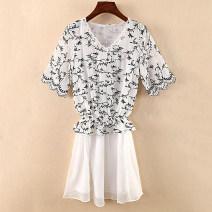Dress Spring of 2019 135 white, 135 black M,L,XL