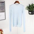 Wool knitwear Spring 2020 M 307 black, 307 light blue, 307 purple cotton 81% (inclusive) - 90% (inclusive)