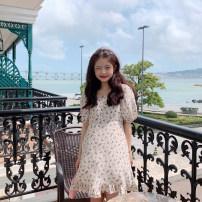 Dress Summer 2021 Apricot Average size