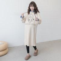 Sweater / sweater Nuochu's favorite Average size Hood No detachable cap Korean version routine Long sleeves